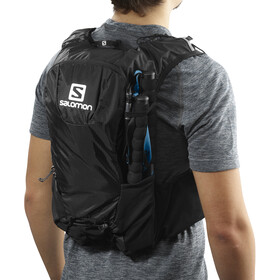 Salomon Skin Pro 10 Backpack Set black/ebony